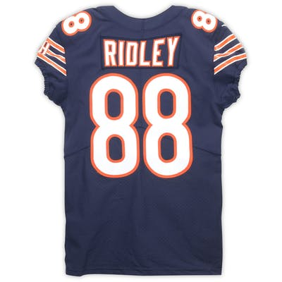 best sneakers cd453 d8f1f Riley Ridley Chicago Bears Event-Worn 2019 NFLPA Rookie ...