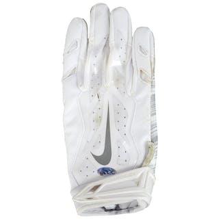 Kenjon Barner Philadelphia Eagles Game-Used White Nike Pair of Gloves