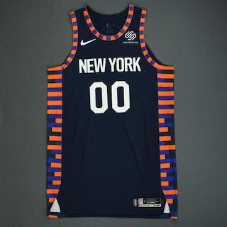 promo code 01231 75bcb Enes Kanter - New York Knicks - Game-Worn City Edition ...