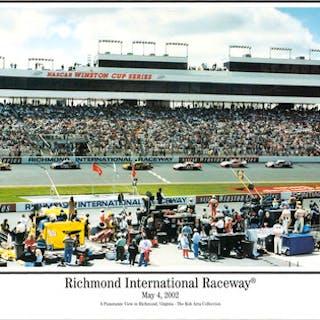 "Richmond International Raceway 13.5"" x 40"" Panoramic Print"