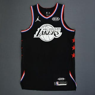 LeBron James - 2019 NBA All-Star Game - Team LeBron - Game-Worn Jersey –  Current sales – Barnebys.com a63be9b09