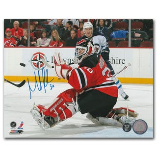 Martin Brodeur Autographed New Jersey Devils 8x10 Photo Current