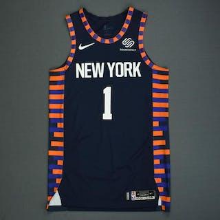 quality design fd20a 09209 Emmanuael Mudiay - New York Knicks - Game-Worn City Edition ...