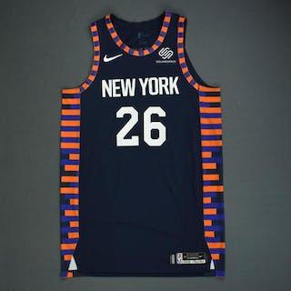 617f1d9d05f Mitchell Robinson - New York Knicks - Game-Worn City Edition Jersey –  Current sales – Barnebys.com