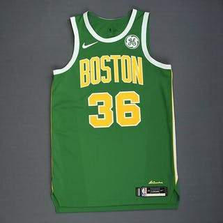 the latest 2206f 8be45 Marcus Smart - Boston Celtics - Christmas Day' 18 - Game ...
