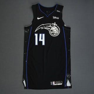D.J. Augustin - Orlando Magic - 2018-19 NBA Season - Game-Worn Black