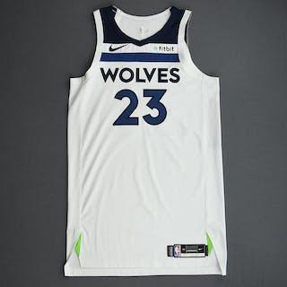 Jarrett Culver - Minnesota Timberwolves - Game-Worn Association Edition