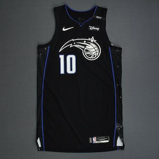 Evan Fournier - Orlando Magic - 2018-19 NBA Season - Game-Worn Black