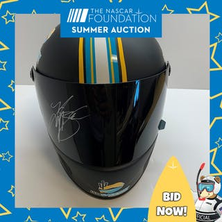 NASCAR'S Kyle Busch 199th Win Autographed Simpson Helmet!