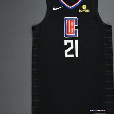 new style f3cae 48306 Patrick Beverley - Los Angeles Clippers - 2019 NBA Playoffs ...