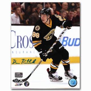 David Pastrnak Autographed Boston Bruins 8X10 Photo