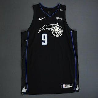 Nikola Vucevic - Orlando Magic - 2018-19 NBA Season - Game-Worn Black