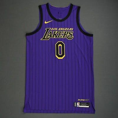 huge selection of 33b58 1a715 Kyle Kuzma - Los Angeles Lakers - 2019 Taco Bell Skills ...