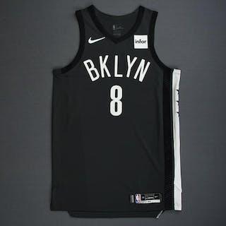 Spencer Dinwiddie - Brooklyn Nets - 2018-19 Season - Game-Worn Gray