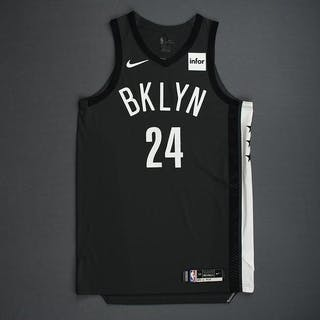 Rondae Hollis-Jefferson - Brooklyn Nets - 2018-19 Season - Game-Issued