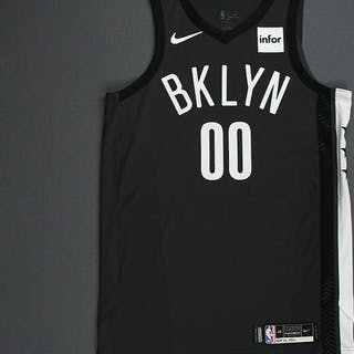 Rodions Kurucs - Brooklyn Nets - 2018-19 Season - Game-Worn Gray Statement