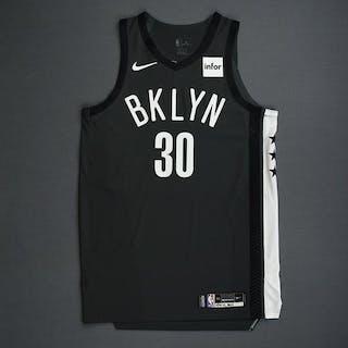 Dzanan Musa - Brooklyn Nets - 2018-19 Season - Game-Worn Gray Statement