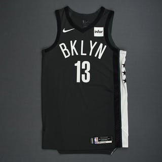 Shabazz Napier - Brooklyn Nets - 2018-19 Season - Game-Worn Gray Statement