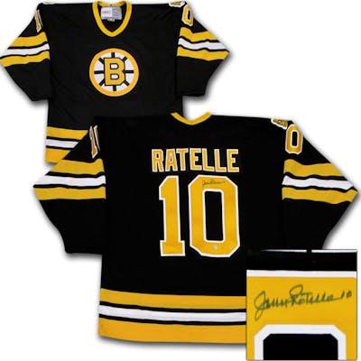buy popular 47b1c 0c437 Jean Ratelle Autographed Boston Bruins Jersey | Barnebys