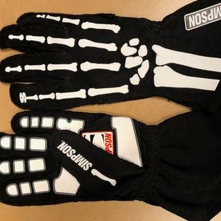 2019 Race-Worn, David Ragan Autographed Driven to Give Gloves in support