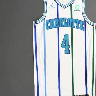Devonte' Graham - Charlotte Hornets - 2018-19 Season - Game-Issued
