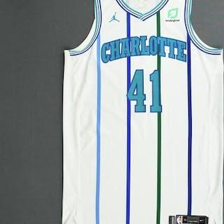 Willy Hernangomez - Charlotte Hornets - 2018-19 Season - Game-Worn
