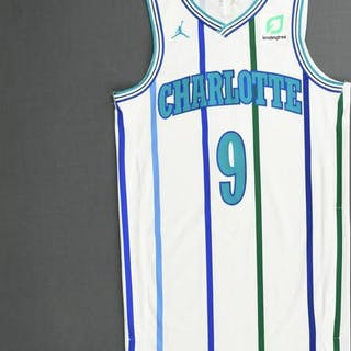 Tony Parker - Charlotte Hornets - 2018-19 Season - Game-Worn White