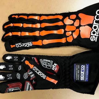 2019 Race-Worn, Tyler Reddick Autographed Driven to Give Gloves in