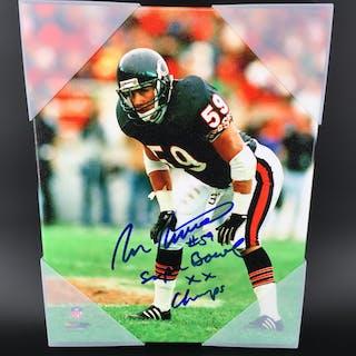Panthers - Ron Rivera Signed Canvas Print 11X14 W/ SB Champs Description