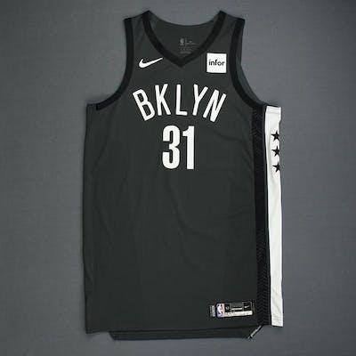 Jarrett Allen - Brooklyn Nets - Game-Worn Statement Edition Jersey