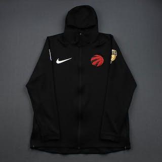 Serge Ibaka - Toronto Raptors - 2019 NBA Finals - Warmup-Issued Hooded