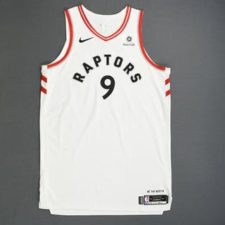 b37b2519c3e Serge Ibaka - Toronto Raptors - Game-Worn Association Edition Jersey