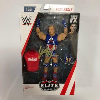 Kurt Angle SIGNED Elite Series Series 66 Action Figure