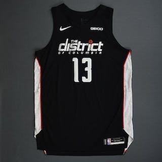 Thomas Bryant - Washington Wizards - 2018-19 Season - Game-Worn Black