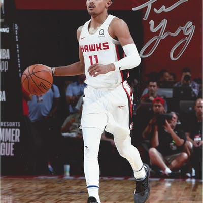 Trae Young - Atlanta Hawks - 2018 NBA Draft Class - Autographed Photo