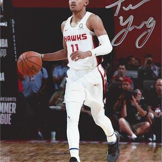 Trae Young - Atlanta Hawks - 2018 NBA Draft Class - Autographed Photo
