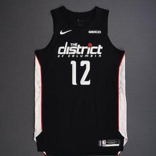 Jabari Parker - Washington Wizards - 2018-19 Season - Game-Worn 1st