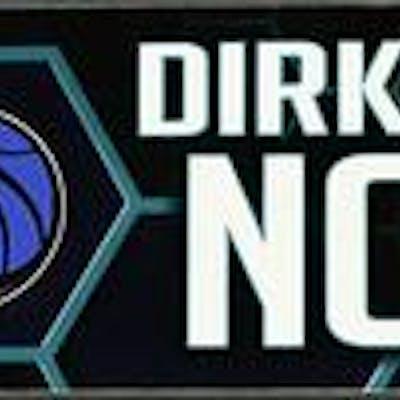 Dirk Nowitzki - Dallas Mavericks - 2019 MTN DEW 3-Point Contest Nameplate