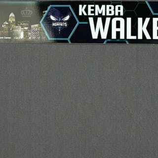 Kemba Walker - Charlotte Hornets - 2019 MTN DEW 3-Point Contest Nameplate