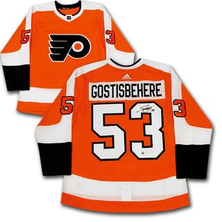 Shayne Gostisbehere Autographed Philadelphia Flyers adidas Pro Jersey