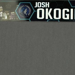 Josh Okogie - Team World - 2019 MTN DEW ICE Rising Stars Contest Nameplate