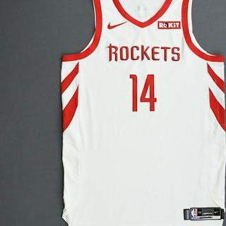 Gerald Green - Houston Rockets - 2019 NBA Playoffs - Game-Worn White