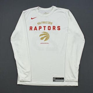 Serge Ibaka - Toronto Raptors - 2019 NBA Finals - Game-Issued Long-Sleeved