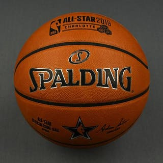 2019 MTN DEW ICE Rising Stars Game-Used Basketball (3rd Quarter)