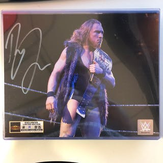 Pete Dunne SIGNED WrestleMania 35 Superstore Exclusive Photo (Random Number)