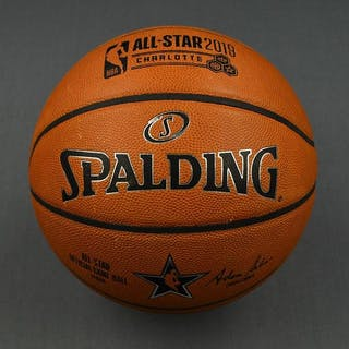 2019 NBA All-Star Game-Used Basketball (3rd Quarter)