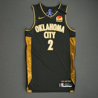 Shai Gilgeous-Alexander - Oklahoma City Thunder - Game-Worn City Edition
