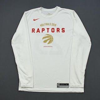 Kyle Lowry - Toronto Raptors - 2019 NBA Finals - Game-Issued Long-Sleeved