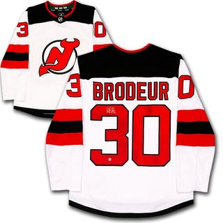 Martin Brodeur Autographed New Jersey Devils Jersey Current Sales