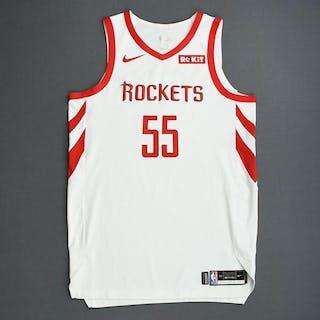 Isaiah Hartenstein - Houston Rockets - 2019 NBA Playoffs - Game-Worn